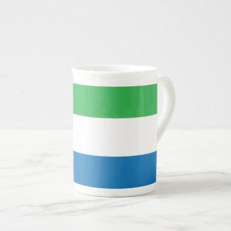 Bandera llana del Sierra Leone Taza De Té
