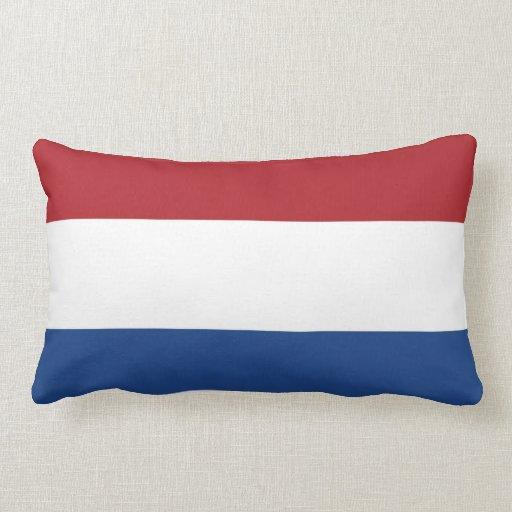 Bandera llana holandesa cojín