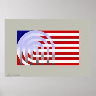 Bandera Loca Poster