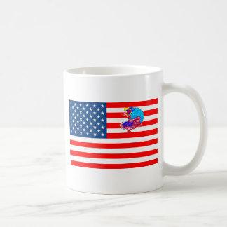 BANDERA LOS EE.UU ÁGUILA 1.PNG TAZA DE CAFÉ