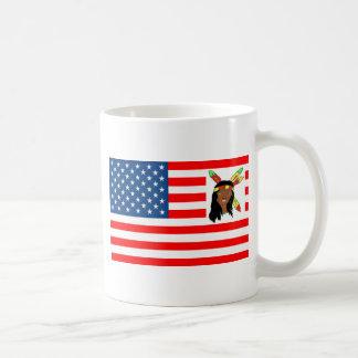 BANDERA LOS EE.UU INDIA 1.PNG TAZAS DE CAFÉ