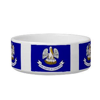 Bandera Louisianan Tazones Para Comida Para Gato