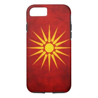 Bandera macedónica funda iPhone 7