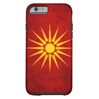 Bandera macedónica funda resistente iPhone 6