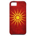 Bandera macedónica iPhone 5 carcasas