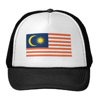 Bandera malasia gorro de camionero