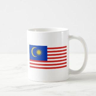 Bandera malasia taza