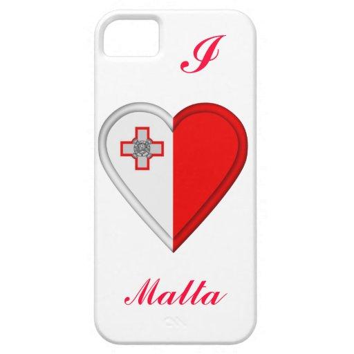 Bandera maltesa de Malta iPhone 5 Protectores