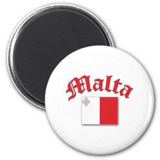 Bandera maltesa imán