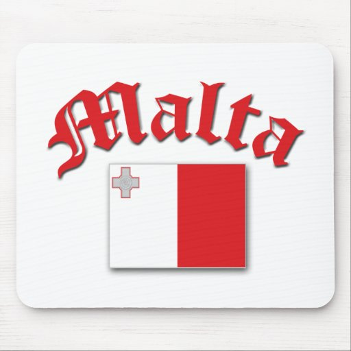 Bandera maltesa tapetes de ratones
