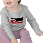 Bandera maorí camisetas