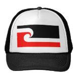 Bandera maorí gorras de camionero