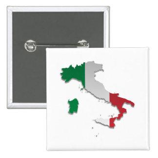 Bandera Map_2 de Italia Pins