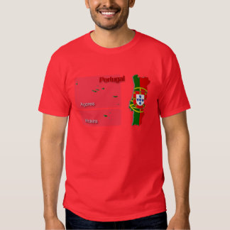 Bandera Map_2 de Portugal Playera