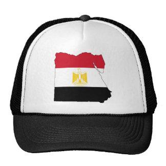 Bandera/mapa de Egipto Gorra