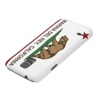 Bandera Marina Del Rey de la república de Californ