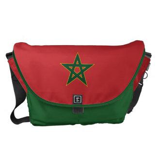Bandera marroquí bolsas de mensajeria