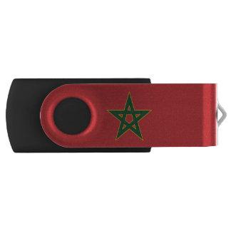 Bandera marroquí memoria USB 2.0 giratoria