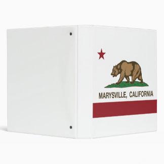 Bandera Marysville de la república de California