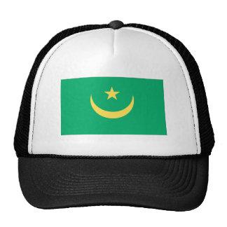 Bandera mauritana gorras