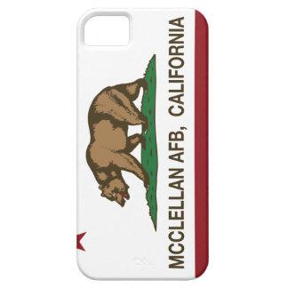 Bandera McClellan AFB de la república de Californi iPhone 5 Cárcasas