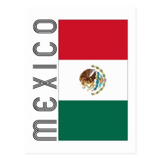 Bandera Mejicana Postales
