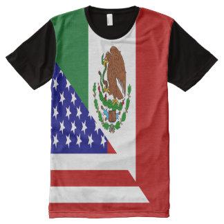 Bandera mexicana-americano