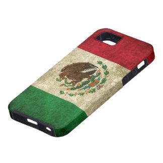 Bandera mexicana apenada iPhone 5 fundas