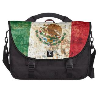 Bandera mexicana bolsas para portatil