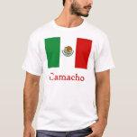 Bandera mexicana de Camacho Playera