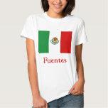 Bandera mexicana de Fuentes Camisas