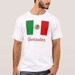 Bandera mexicana de Gonzalez Playera