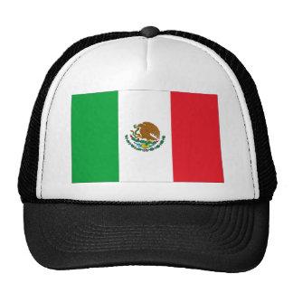 Bandera mexicana de la camiseta de la bandera de gorras