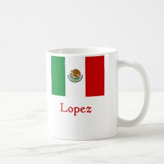 Bandera mexicana de López Taza