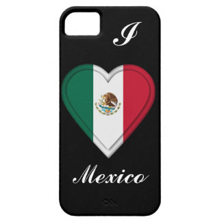 Bandera mexicana de México iPhone 5 Funda