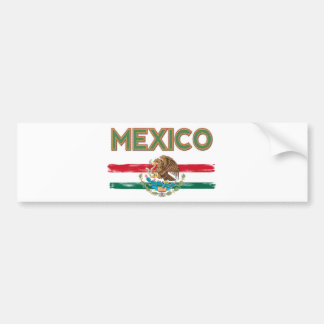 Bandera mexicana de México Pegatina Para Auto
