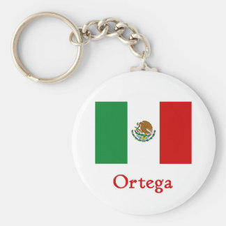 Bandera mexicana de Ortega Llavero