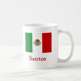 Bandera mexicana de Santos Tazas