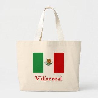 Bandera mexicana de Villarreal Bolsa De Tela Grande