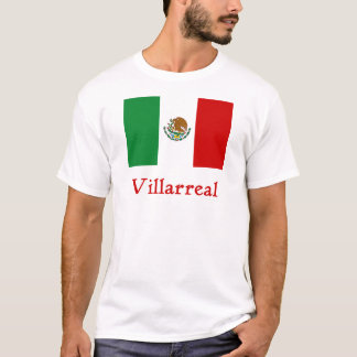 Bandera mexicana de Villarreal Playera