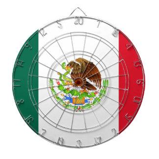 Bandera mexicana tabla dardos