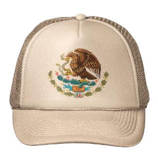 BANDERA MEXICANA - ESTILO DE MÉXICO - ESCUDO DE AR GORRO