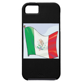Bandera mexicana iPhone 5 protector
