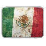 Bandera mexicana fundas para macbooks
