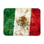 Bandera mexicana imanes rectangulares