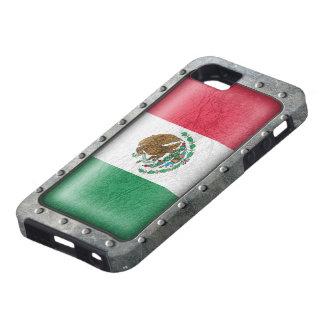 Bandera mexicana industrial funda para iPhone SE/5/5s