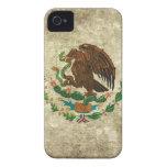 bandera mexicana iPhone 4 Case-Mate funda