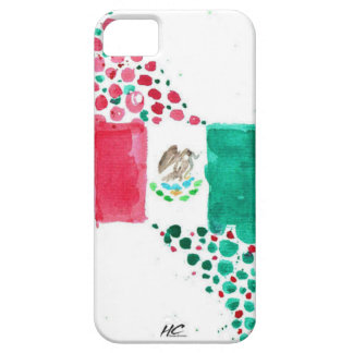 Bandera mexicana iPhone 5 fundas