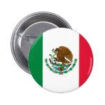 Bandera mexicana pins