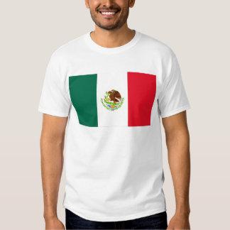 Bandera mexicana playeras